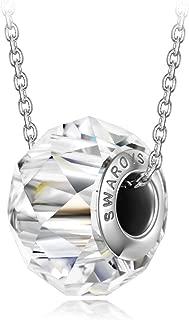 swarovski bead necklace