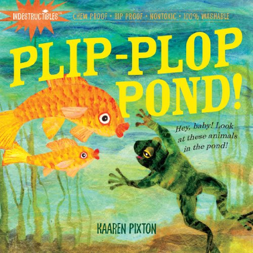 Workman Publishing Plip-Plop Pond Indestructible