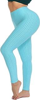 Pantalón Deportivo de Mujer Cintura Alta Leggings Mallas Running Training Fitness