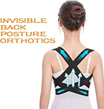 Fine Invisible Posture Corrector, Scoliosis Humpback Correction Belt, Adjustable Comfort Invisible Belt, Back Humpback Kyphosis, for Man Woman Adult Students Children