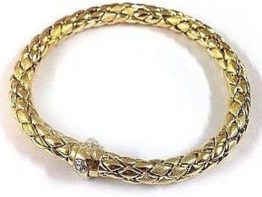 Chimento ,bracciale per donna in oro giallo18 k/750(22,5 GR) e diamante 1B00848ZB6200_0