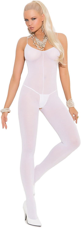 Sexy Women's Plus Max 74% OFF Size Spaghetti Opaque Strap Open Crotch Bodyst Fresno Mall