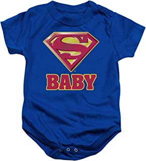 Popfunk Superman Super Baby Onesie Bodysuit