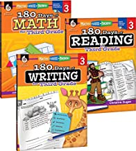 180 Days of Practice for Third Grade (Set of 3), 3rd Grade Workbooks for Kids Ages 7-9, Includes 180 Days of Reading, 180 Days of Writing, 180 Days of Math PDF