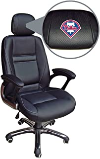 NCAA College Butler Bulldogs Leather Executive Office Chair Wild Sales 5501-BUTLR