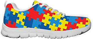 Gnarly Tees Men's Autism Awareness Sneakers