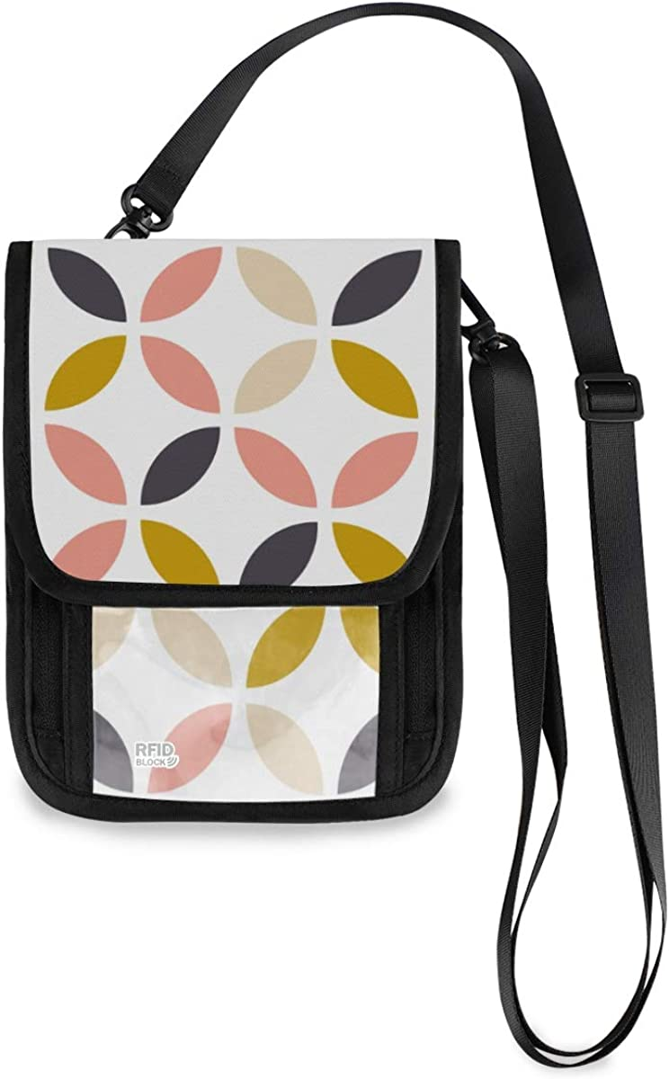 VIKKO Scandinavian Geometric Style Travel Free shipping on posting reviews Neck Animer and price revision Wallet RFID With