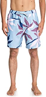 Quiksilver Men's Gully Floral 18 Volley Swim Trunk