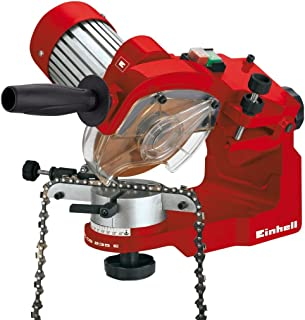 Einhell Kedjeslip GC-CS 235 E (235 W, 3000 rpm, kedjespännare, sliphjul, belysning, vridbart sliphuvud, djupbegränsare)