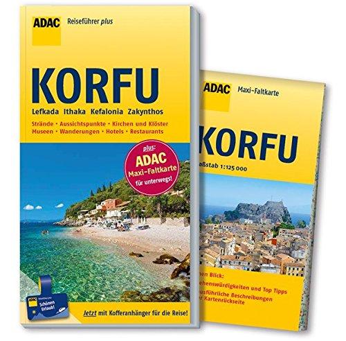 ADAC Reiseführer plus Korfu und Ionische Inseln: mit Maxi-Faltkarte zum Herausnehmen
