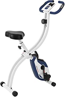 Ultrasport, F-Bike, fitnessfiets, lcd-display, inklapbare hometrainer, opt. Met rugleuning, verstelbare weerstandsniveaus,...