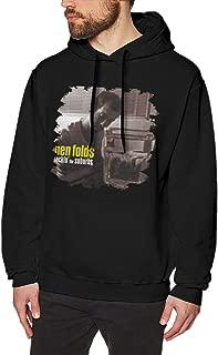 Ben Folds Rockin The Suburbs Men's Cool Long Sleeve Fleece Sweatshirt Tops Black