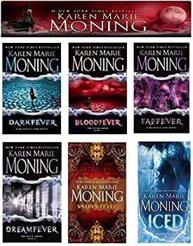 A Complete 6-book Karen Marie Moning Fever Series Collection [Darkfever Bloodfever Faefever Dreamfever Shadowfever and Iced]