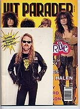 Hit Parader Magazine MOTLEY CRUE Metallica GUNS N' ROSES Alice Cooper SEBASTIAN BACH L.A. Guns RATT January 1992 C