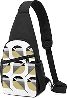 PGTry Nine Chickadees - Mochila bandolera ligera para llevar al hombro, mochila cruzada, bolsa de viaje, senderismo, para ...