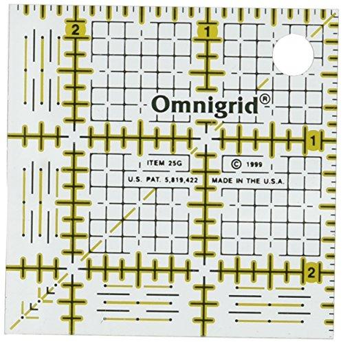 Dritz Acryl Omnigrid Quilter 's Square-2–1/2x 2–1/2