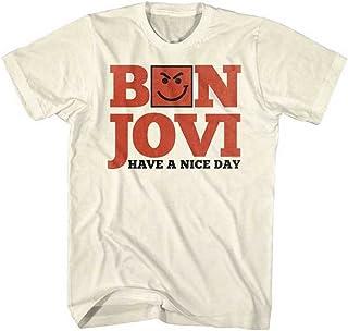 BON JOVI ボン・ジョヴィ (デビュー35周年記念) - HAVE A NICE DAY/Tシャツ/メンズ 【公式/オフィシャル】