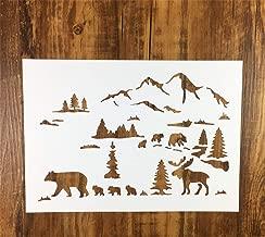 Martha Stewart 17643 Laser-Cut Woodland Animals Stencil