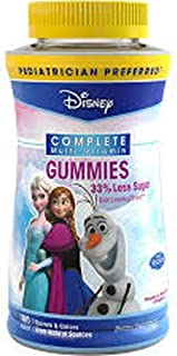 Disney Frozen Multi Gummi Size 60ct Disney Frozen Multivitamin Complete Gummies 60