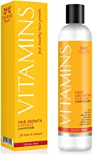 Vitamins Hair Loss Conditioner for Thinning Hair - 296ml with Caffeine, Argan Oil and Biotin for Hair Growth – Best Hair Regrowth Product for Men and Women - 3 Month Supply
