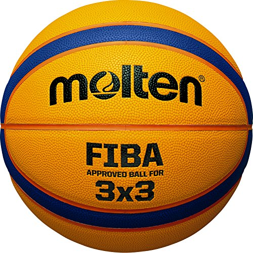 Molten Unisex Adult Basketball ball B33T5000 Fiba 3x3 Basketball Balls -...
