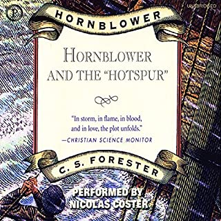 "Hornblower and the ""Hotspur"" audiobook cover art"