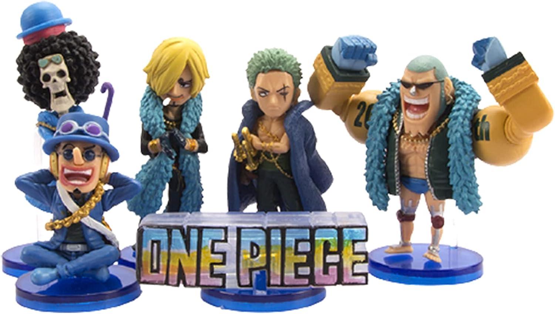 JINGMAI 6pcs One Piece Action Mo Version Manufacturer direct delivery Toys Quantity limited Figure Q