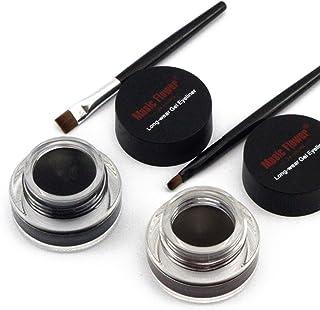 comprar comparacion Frcolor 2 en 1 Gel Eyeliner Set belleza cosmética maquillaje delineadores de ojos Long wear Gel a prueba de agua marrón y ...