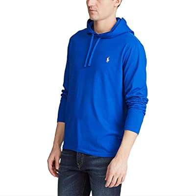 Polo Ralph Lauren Big & Tall Big Tall Cotton Jersey Hooded T-Shirt (Pacific Royal/C1730) Men