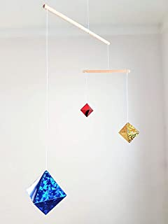 Montessori inspired mobile - Octahedrons