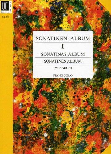 Sonatinen-Album: Eine Sammlung 21 wertvoller und beliebter Sonatinen. Band 1. für Klavier.