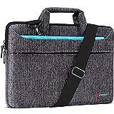 DOMISO 10.1 Zoll Tablet Tasche Aktentasche Wasserdicht Laptop Schultertasche Notebooktasche Business für 9.7