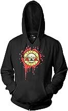 Largemouth Men's Guns N' Roses Bloody Bullet Pullover Hoodie Black