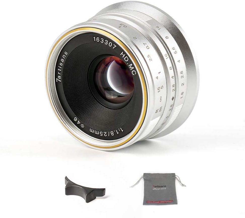 55% OFF 7artisans 25mm 25% OFF F1.8 APS-C Frame Manual fo Prime Lens Fixed Focus