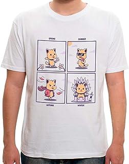 Camiseta Cat Seasons - Masculina