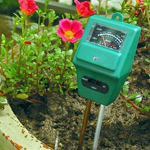 Why Should You Buy 3 in 1 PH Tester Soil Water Moisture Light Test Meter for Garden Plant Flower OY