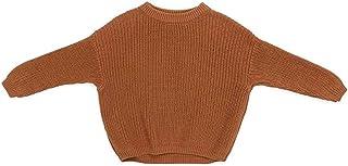 Geagodelia - Jersey de punto de manga larga para otoño