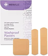Reliance Medical Dependaplast Washproof Plasters, Assorted, 20 Plasters