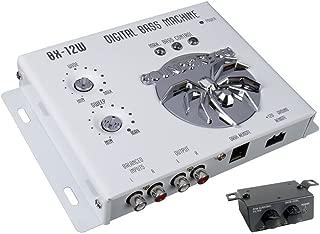 Soundstream BX-12W Digital Bass Processor with Remote (White)