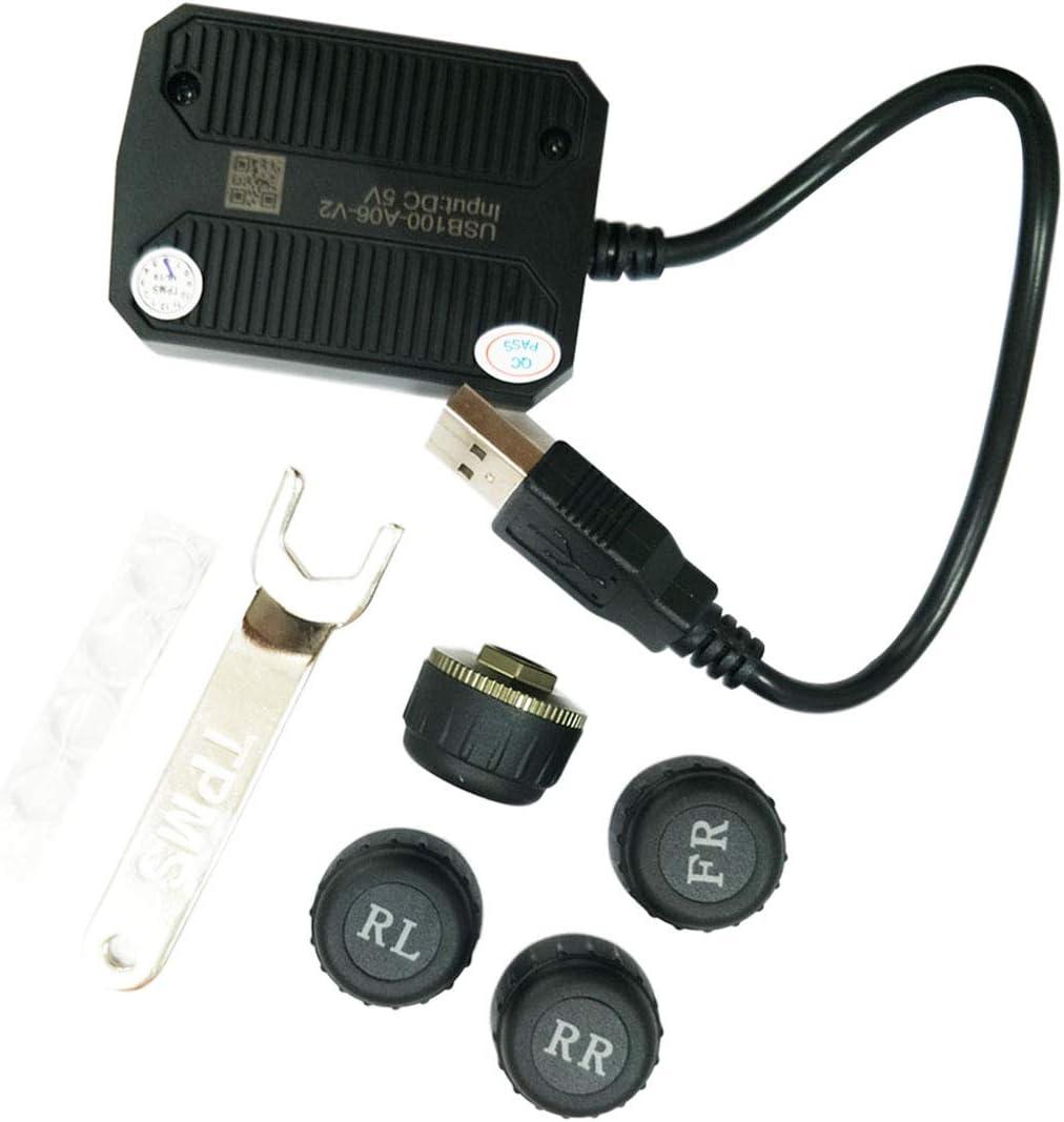ATOTO AC-UTP1 Ultra-Cheap Deals USB TPMS Tire Sensors Pressure Superior System S Monitoring