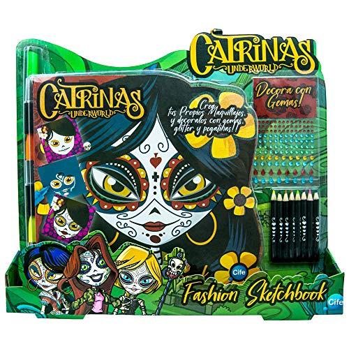 Catrinas- Diseña y Decora Set de Manualidades, Multicolor (Cife 41859)