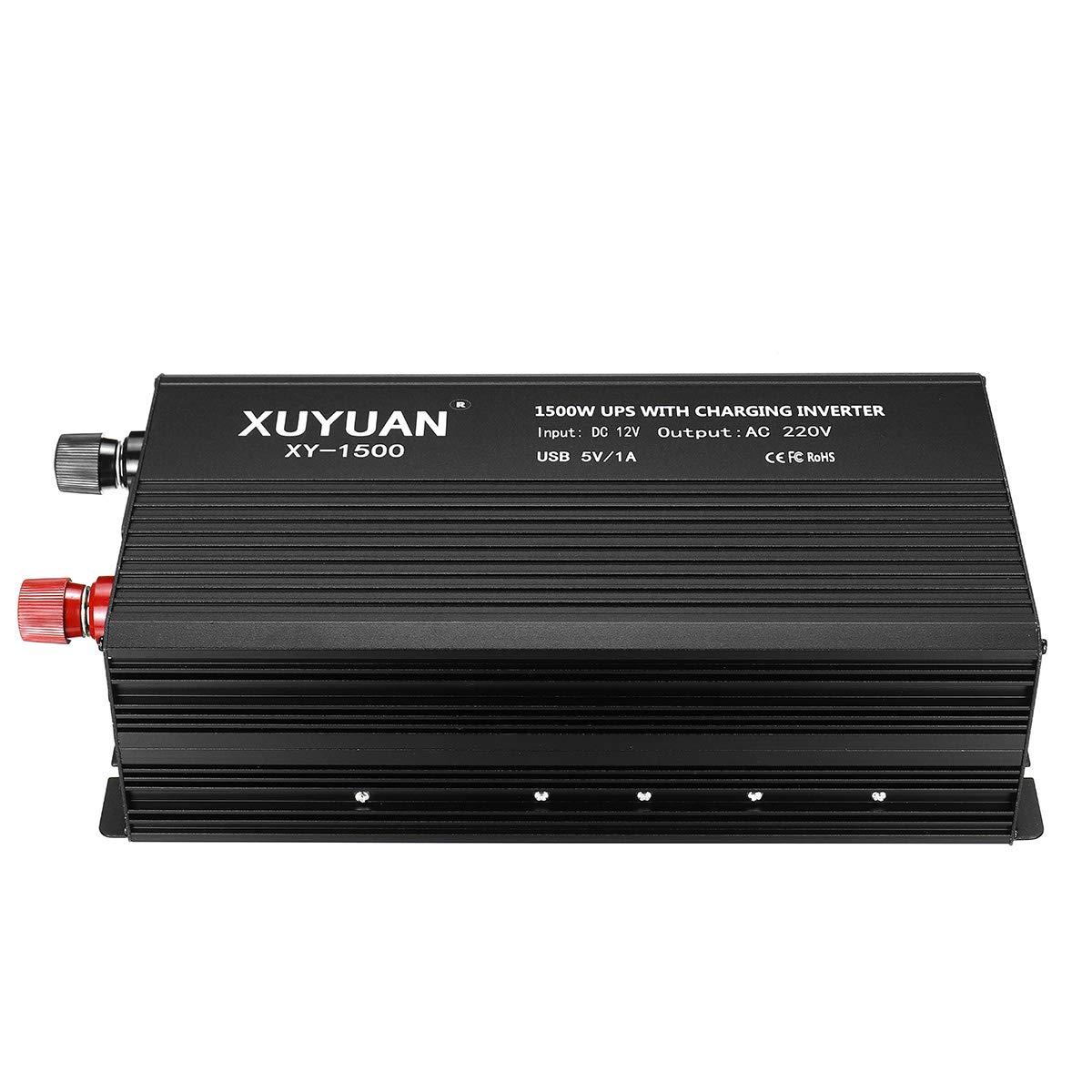 Award 1500W DC 12V to Store AC 220V UPS Sine Power Modified Inverter Wave LC