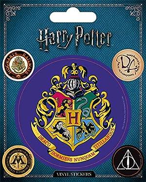 Wizarding World Harry Potter-Hogwarts Vinyl Sticker, Multi-Color, 10 x 12.5cm