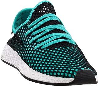 adidas Men's Deerupt Runner (Aqua Black, 10.5 D(M) US)