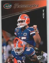 2010 Press Pass #94 Tim Tebow / Aaron Hernandez - Florida Gators (Teammates)(Football Cards)