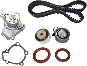 DNJ TBK120WP Timing Belt Kit with Water Pump for 2006-2012 / Hyundai, Kia/Elantra, Soul, Spectra, Spectra5, Sportage, Tiburon, Tucson / 2.0L / DOHC / L4 / 16V / 1975cc