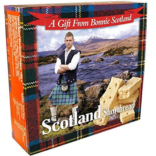 Famoso della Scozia Scozzese Shortbread Fatto a Mano Confezione Regalo