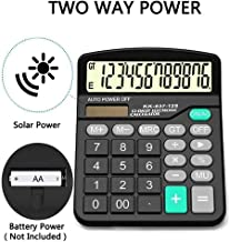 $26 Get KOUYE- Calculator 12 digits Standard Function Desktop calculator Office calculator Calculator Solar Calculator with large display