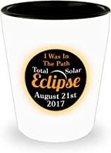 I Was In The Path Total Solar Eclipse Commemorative Shot Glass