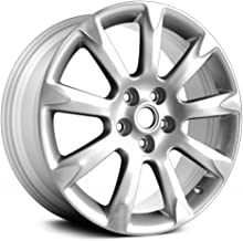 Replacement COMPATIBLE Aluminum Wheel, Rim 19x8.5, Machined w Silver Fits Buick Allure